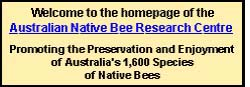 Australian Native Bee Research Centre