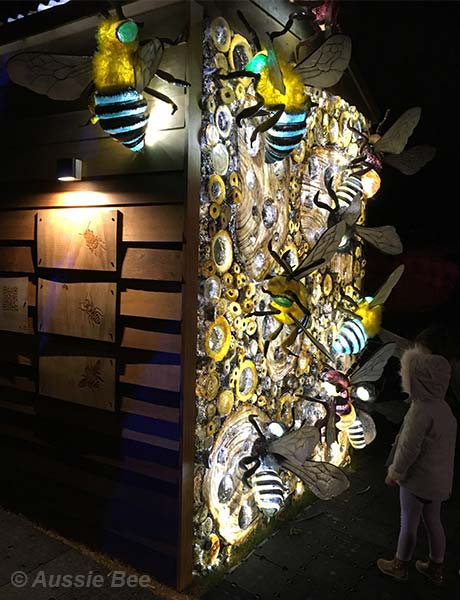 Beetopia, Vivid, Sydney, Bee Hotel for native bees