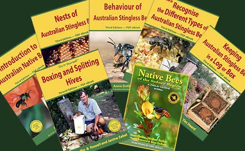 Native bee books