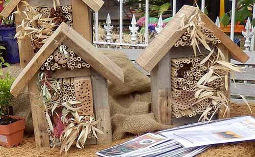 Bee Hotels for native bees